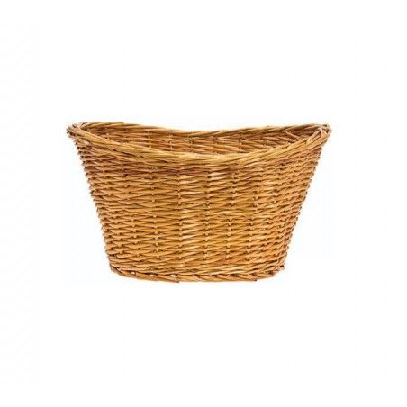 Wicker Basket in Natural Retro