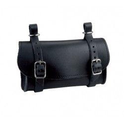 Saddle Leather Handbag Black
