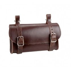 Leather Handbag saddle brown