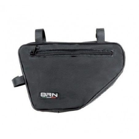 Handbag black pentagon
