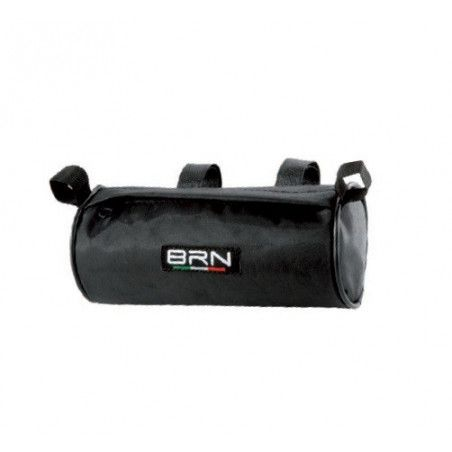 Bag to the handlebar cylindrical black