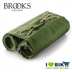 Borse posteriori bici Brooks Bricklane Panniers verdi vendita online