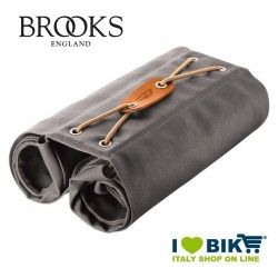 Borse posteriori bici Brooks Bricklane Panniers grigio vendita online