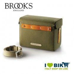 Borsa al Manubrio Brooks Isle of Skye verde