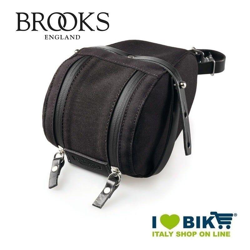 Seatpost bag Brooks Isle of Wight Medium black Brooks - 1
