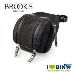 Seatpost bag Brooks Isle of Wight Large black