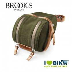 Seatpost bag Brooks Isle of Wight Small green