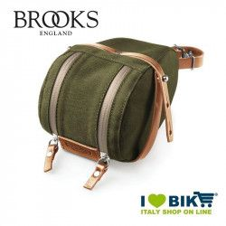 Borsetta sottosella Brooks Isle of Wight Large green online store