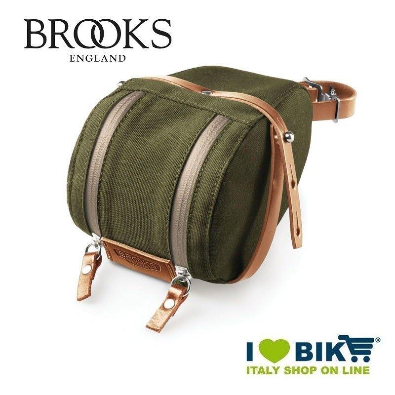 Seatpost bag Brooks Isle of Wight Large green Brooks - 1