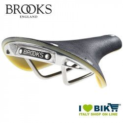 Saddle retrò Brooks Cambium c19 woman Black-Natural shop online