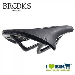 Saddle retrò Brooks Cambium C13 Carbon carved 158 Black shop online