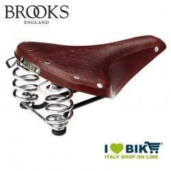 Saddle for vintage bike Brooks B67 S women bronw online shop