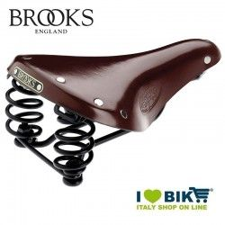 Sella bici vintage Brooks Flyer S Lady Marrone online shop