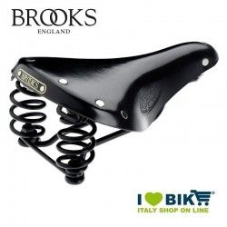 Sella bici vintage Brooks Flyer S Lady Nera online shop