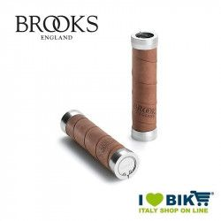 Brooks Leather grips aged for change