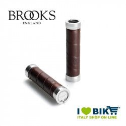 Brooks Leather grips brown for change
