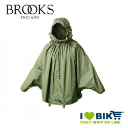 Mantellina antipioggia Brooks Cambrige Verde online bike shop