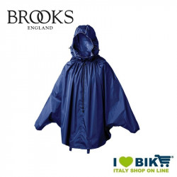 Mantellina antipioggia Brooks Cambrige Blu online bike shop