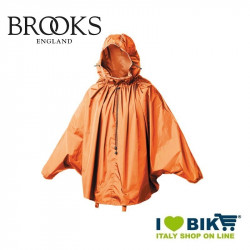 Mantellina antipioggia Brooks Cambrige arancio online bike shop