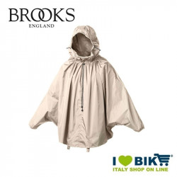 Mantellina antipioggia Brooks Cambrige sabbia online bike shop