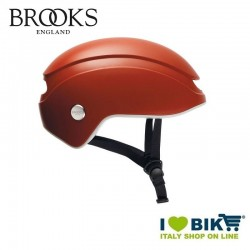 Brooks Island orange Helmet city bike