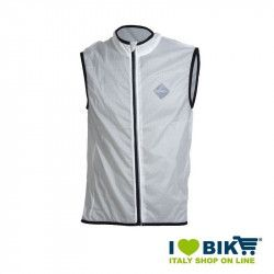 White wind-resistant BRN Sleeveless jacket