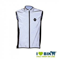 Reflective wind-resistant BRN Sleeveless jacket