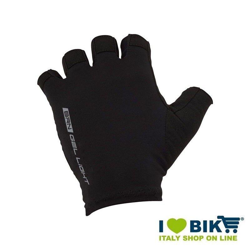 Guanti ciclismo corti BRN Gel light neri online shop