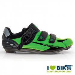 Shoes BRN Race Corsa green fluo/ black bike store