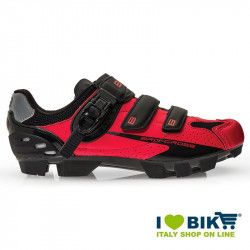 BRN Cross MTB shoes red - black bike store
