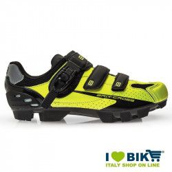 BRN Cross MTB shoes yellow fluo- black bike store
