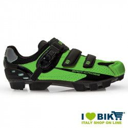 Scarpe BRN Cross MTB verde fluo - nero