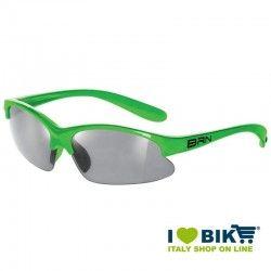 Occhiale BRN kid Speed Racer Fluo verde
