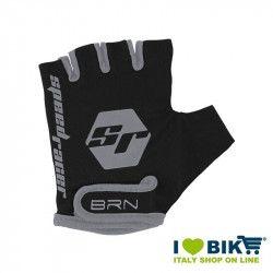Guanti BRN kid Speed Racer Nero-Silver accessori bicicletta vendita online