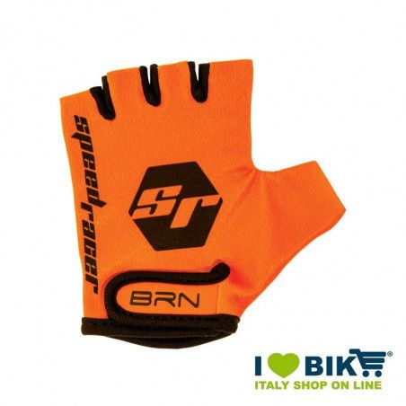 Guanti BRN kid Speed Racer Fluo arancio accessori bicicletta vendita online