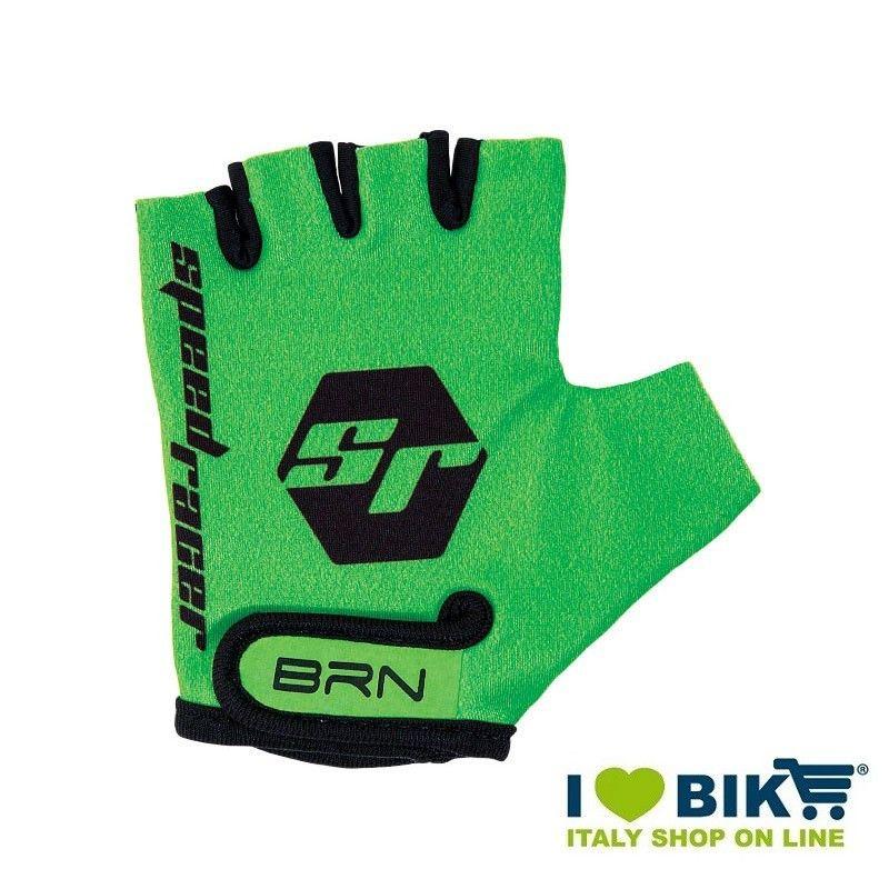 Guanti BRN kid Speed Racer Fluo verde accessori bicicletta vendita online