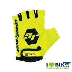 Guanti BRN kid Speed Racer Fluo giallo accessori bicicletta vendita online