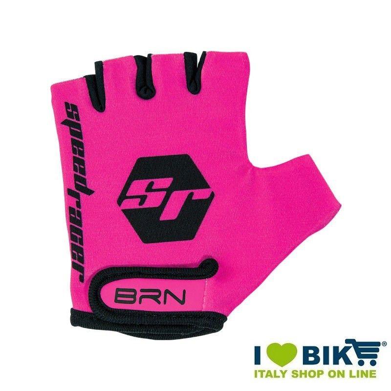 Guanti BRN kid Speed Racer Fluo Fuxia accessori bicicletta vendita online