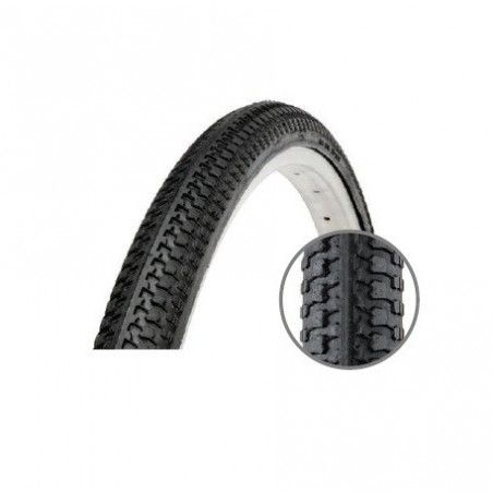 Solid rubber heel with 1.75 x 20 24 - 26 mm