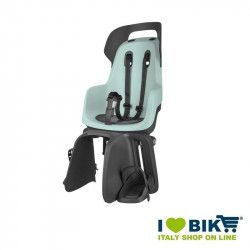 Rear child seat Bobike GO mint green bike shop