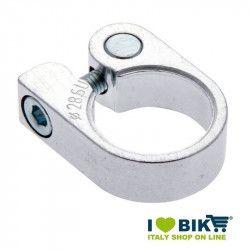 Collarino per bicicclette in alluminio silver varie misure