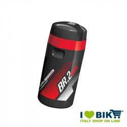 Borraccia Portaoggetti BR.2 500 ml. Nera/Rossa vendita borracce per biciclette