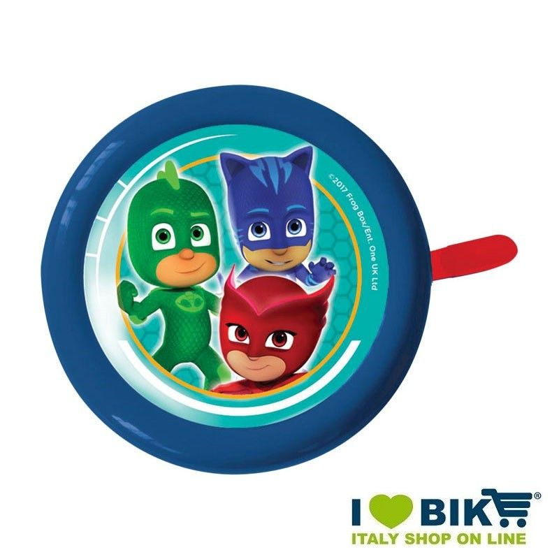 Campanello bimbo bicicletta PJ MASKS online shop