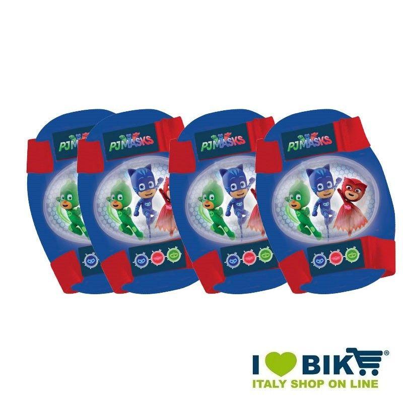 Kit protezione gomitiere e ginocchiere biciclette PJ MASKS online shop