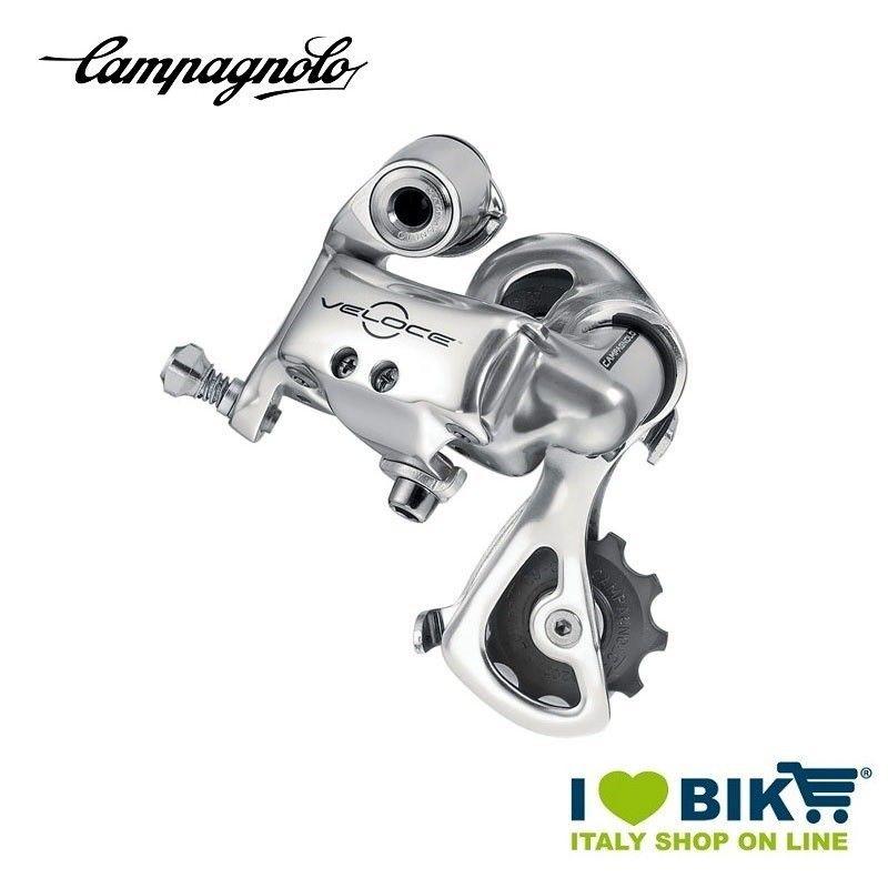 Cambio bici corsa Campagnolo VELOCE Silver 10 v Gabbia media
