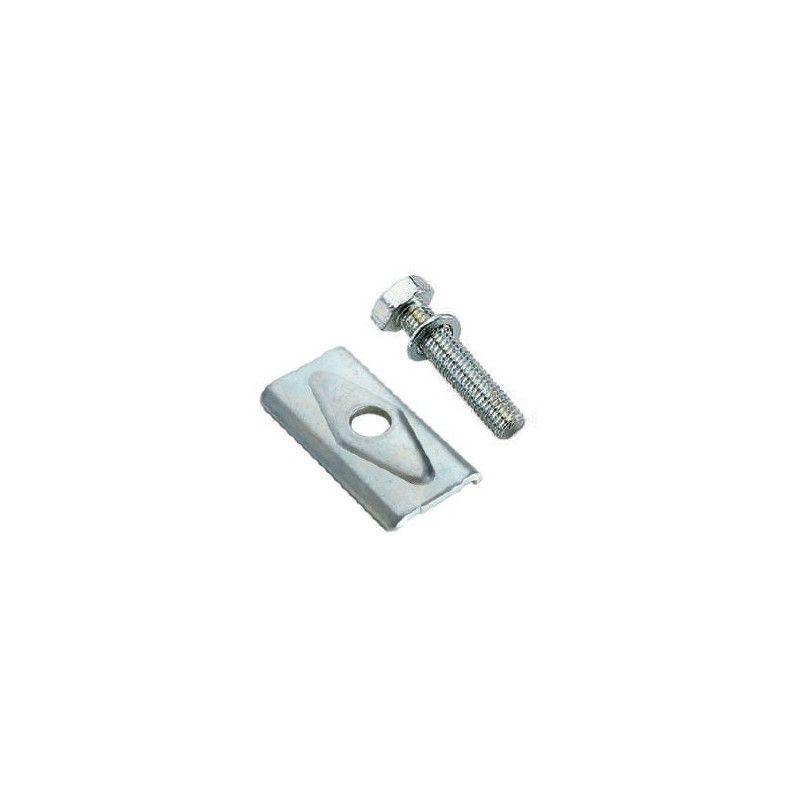 tripod plate reinforced with iron screw BRN - 1