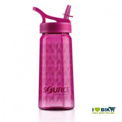 Source Tritan L Water Bottle Rose