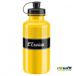 Vintage Water Bottle Eroica 500ml Elite yellow