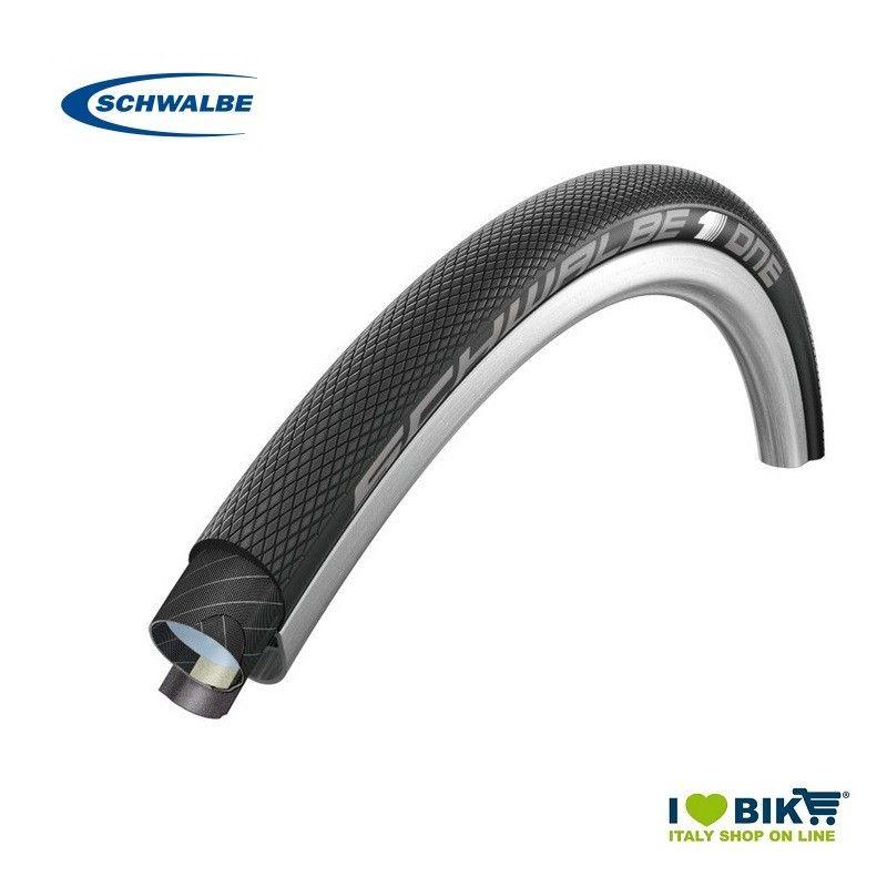 Tubular 700x22 One HS423D Black Schwalbe - 1