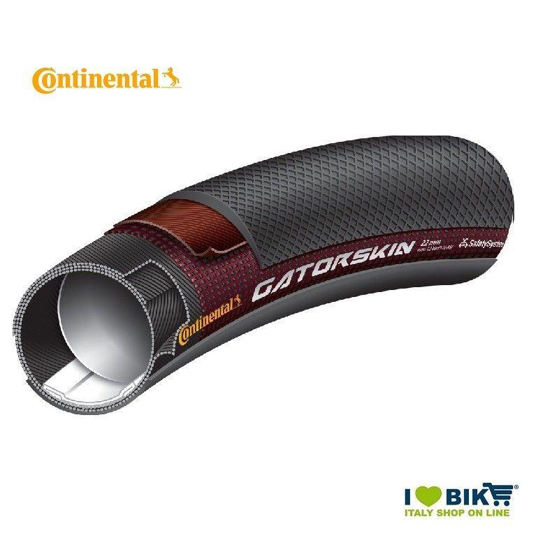 Tubular 700x22 tire Giro Black Continental - 1
